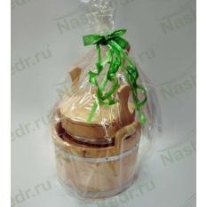 Подарочный набор Сибирский банный из кедра Классический