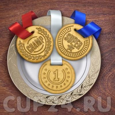 Форма для печенья Медаль (набор 3 шт.)
