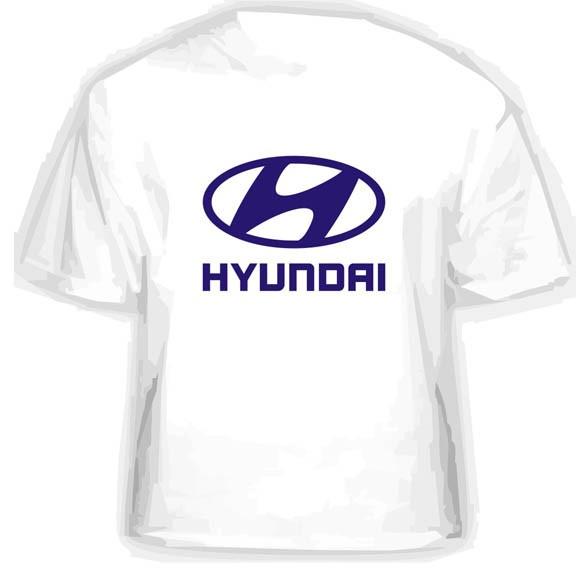 Прикольная футболка HYUNDAI