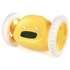 Жёлтый убегающий будильник Clocky