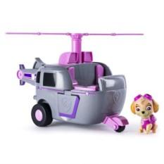 Розовая машина-трансформер со звуком и светом