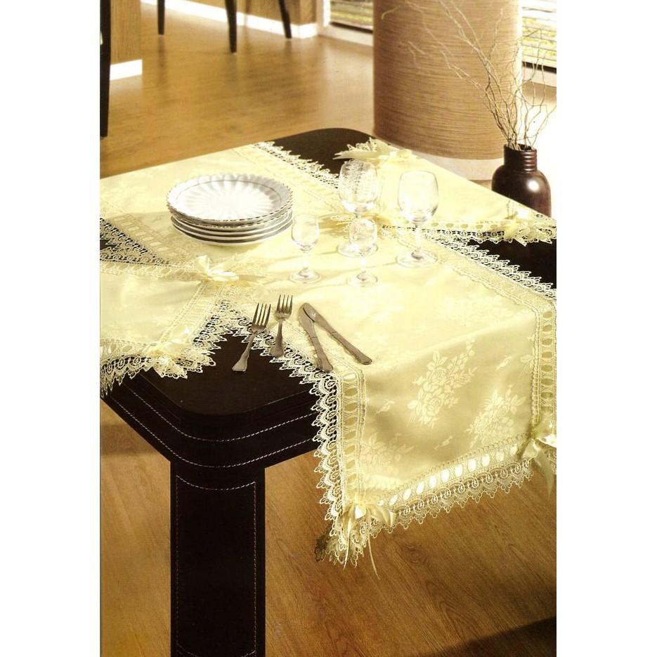 Скатерть  кружевная с салфетками «Грегорио»