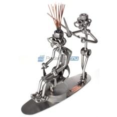 Статуэтка из металла Парикмахер