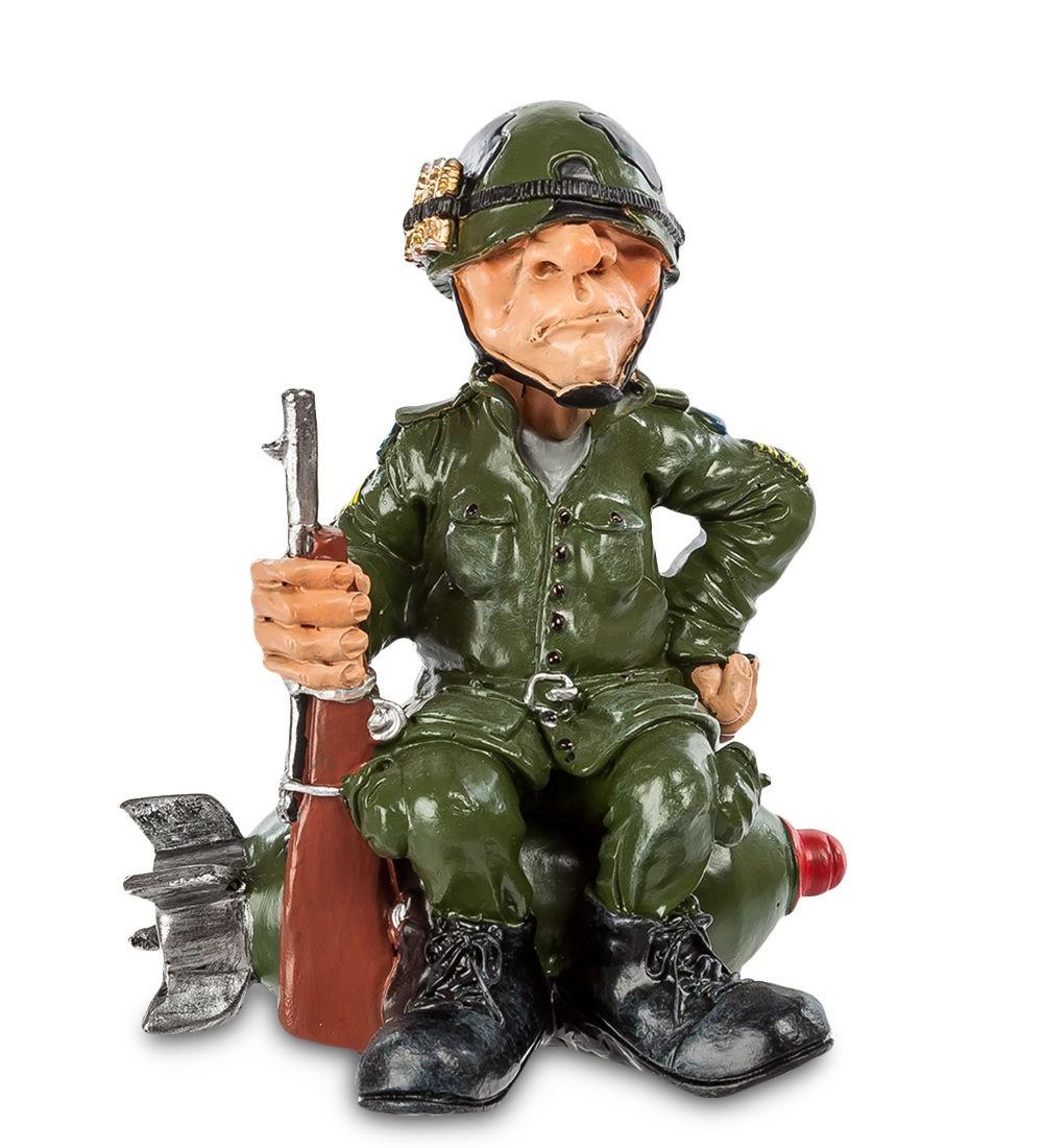 Статуэтка Воин на бомбе