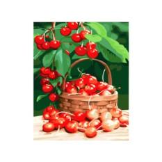 Картины по номерам «Спелая вишня»