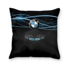 Подушка 3D с логотипом BMW