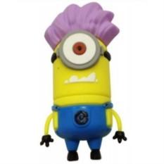 Флешка Миньон с фиолетовыми волосами