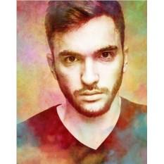 Портрет в стиле гранж