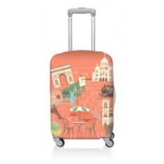 Чехол для чемодана LOQI Urban Paris