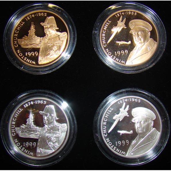 Монета «Черчилль»