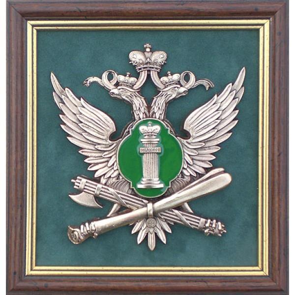 Плакетки Эмблема федеральной службы судебных приставов РФ
