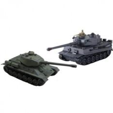 Радиоуправляемый танковый бой T34 и Тигр