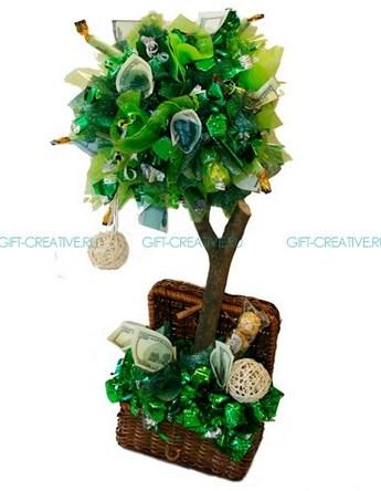 Сладкий букет Денежное дерево