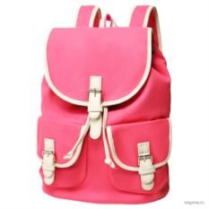 Розовый рюкзак Asgard City
