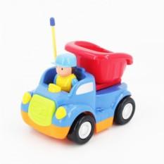 Детская синяя радиоуправляемая машина Самосвал