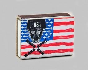 Спички сувенирные «Мировой жандарм»
