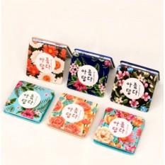 Карманное зеркало Korean flora