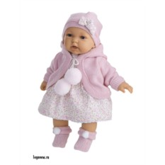 Озвученная кукла-малыш Азалия в розовом