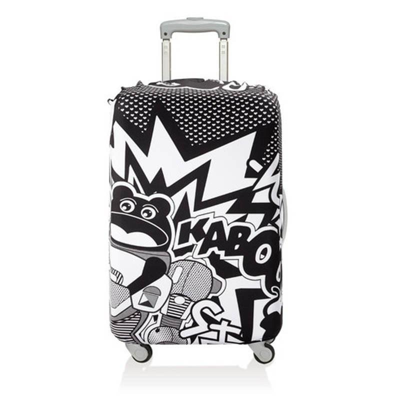 Чехол для чемодана LOQI Uberpop Kaboom