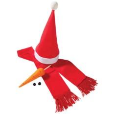 Красный набор «Настоящий снеговик»