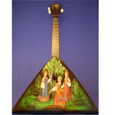 Балалайка большая «Три девицы»