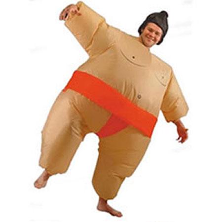 Надувной костюм «Борец Сумо»