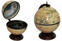 Глобус-бар Сокровища древнего мира