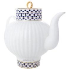 Заварочный чайник Кобальтовая сетка (фарфор)