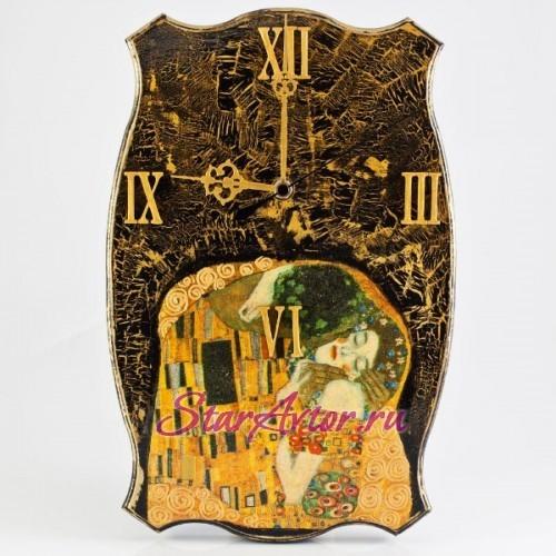 Авторские часы ручной работы По мотивам Густава Климта