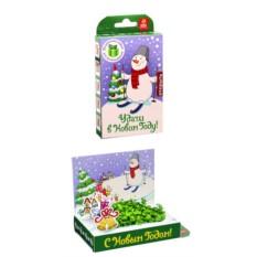 Подарочный набор-живая открытка Удачи в Новом году
