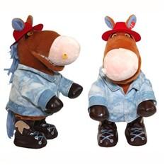 Анимированная игрушка Конь Ковбой
