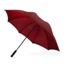Противоштормовой зонт-трость цвета бургунди