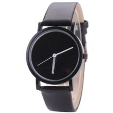 Наручные часы с черным циферблатом