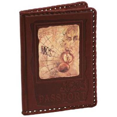 Обложка для паспорта «Компас»