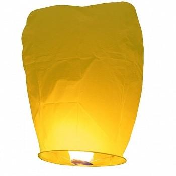 Небесный фонарик Желтый Конус