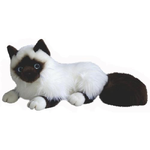 Мягкая игрушка Сиамская кошка Aurora