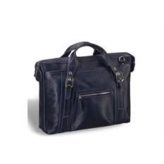 Деловая синяя сумка Brialdi Navara
