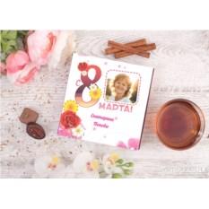 Конфеты в подарочной упаковке «Женский день» (9 конфет)