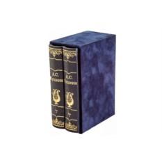 Двухтомник в коробе «Избранная лирика Пушкина А.С.»