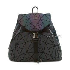Черный силиконовый женский рюкзак Sabellino