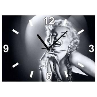 Часы настенные «Улыбка Монро»