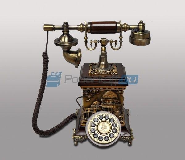 Кнопочный ретро-телефон Персей