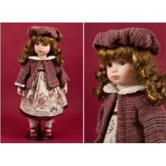 Коллекционная кукла Школьница