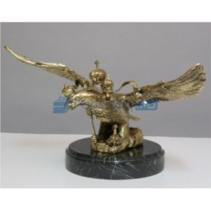 Скульптура Двуглавый орел