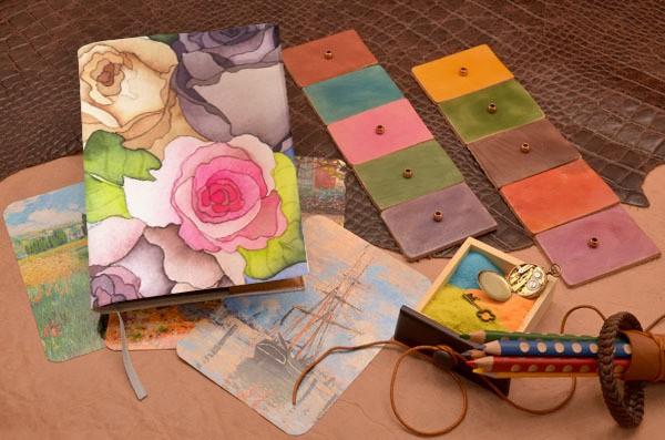 Ежедневник  Цветы, цветы