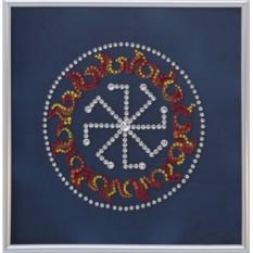 Картина с кристаллами Сваровски Оберег - Колядник