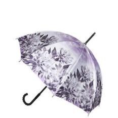 Лиловый женский зонт Eleganza