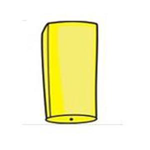 Небесный фонарик «Цилиндр Желтый»
