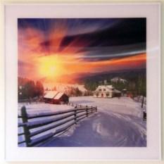 Картина Зимнее утро с эффектом 3D