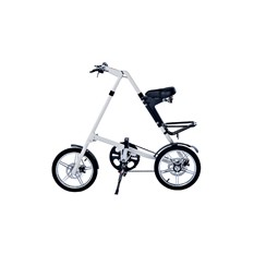 Белый складной велосипед FitBike